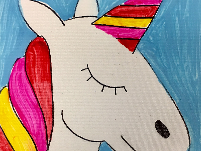 FREE TRIAL CLASS - How to Draw and Paint a Unicorn (4-9 Years)